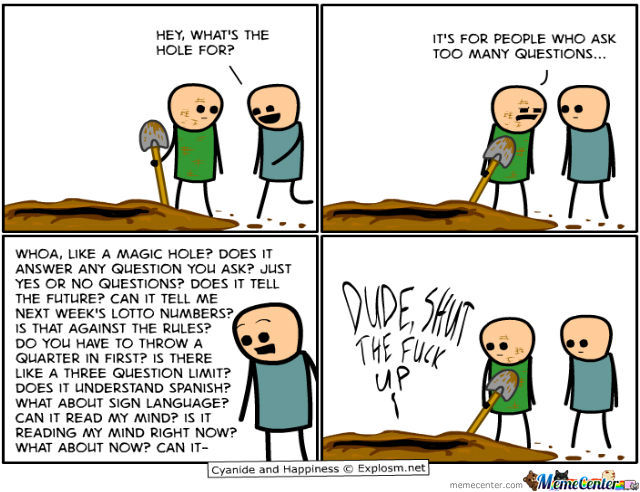 All Credits To Cyanide And Happiness