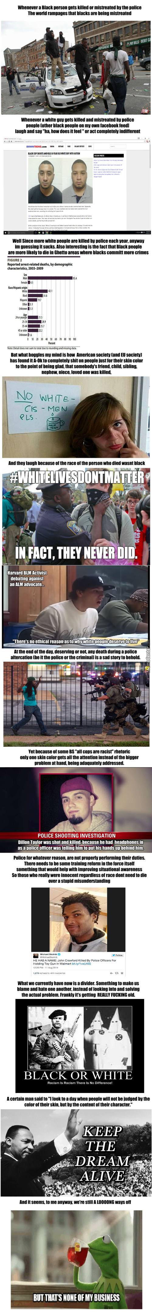 All Lives Matter [Long Post Incoming]