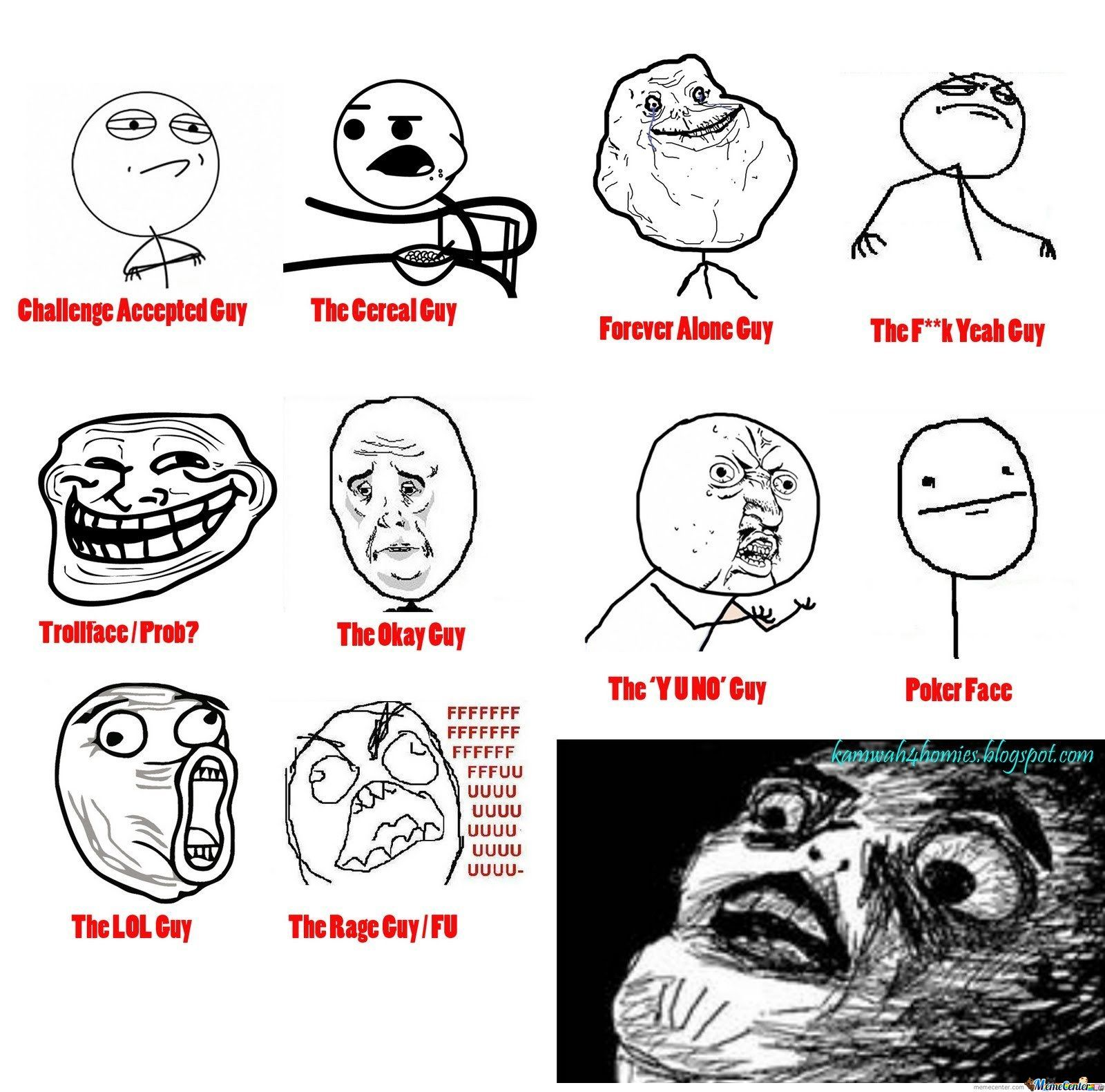 Lol Face Meme Comics All Memes by vi...