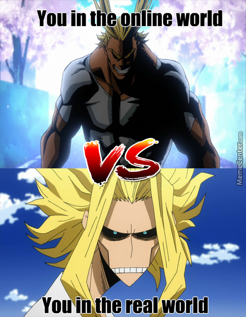 All Might? Or All Shite?
