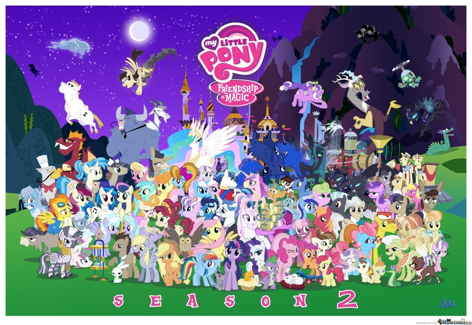 All Of Mlp's Character Season 2