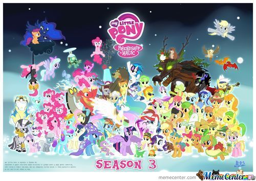 All Of Mlp's Character Season 3