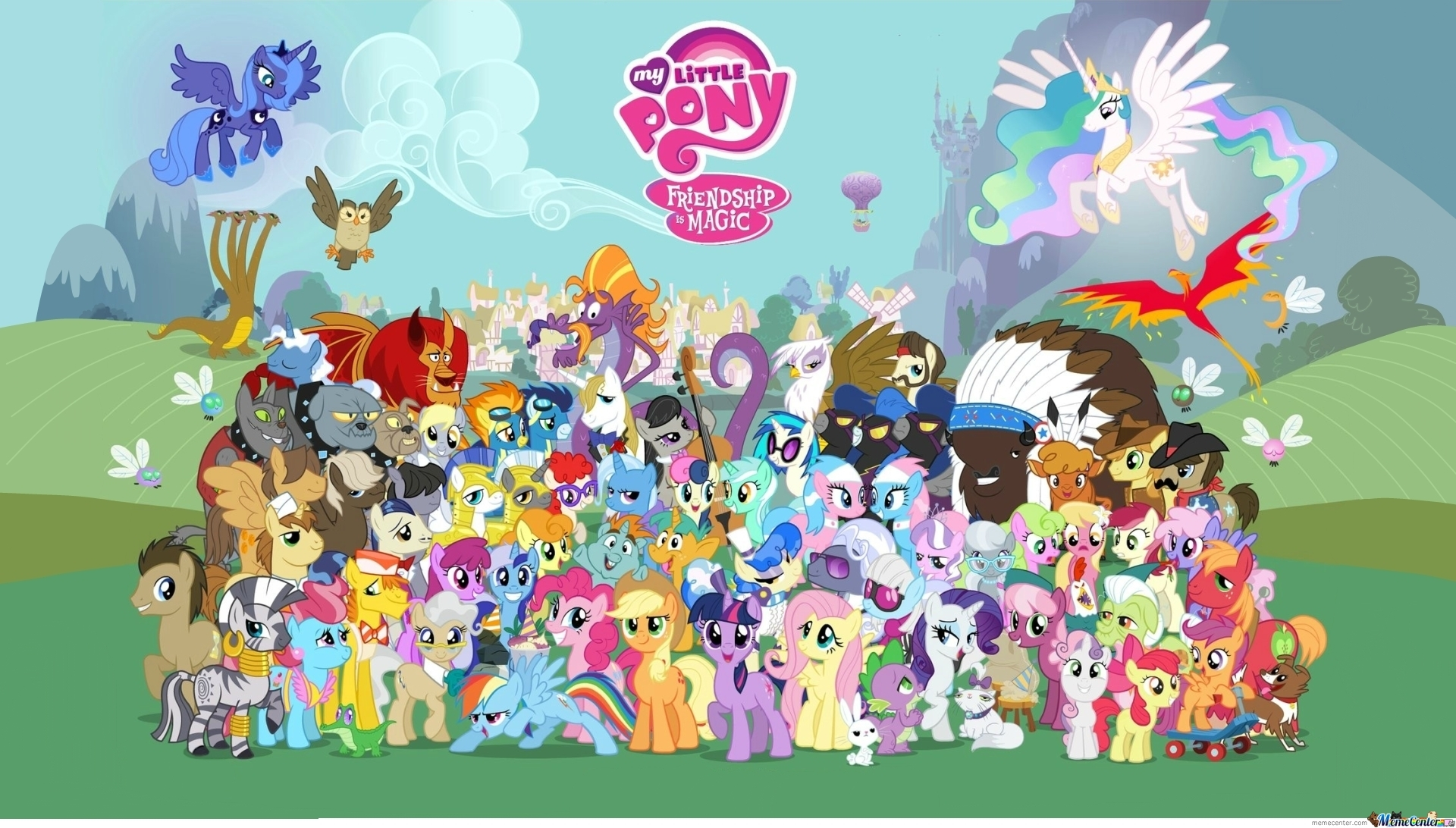 All Of Mlp's Characters Season 1