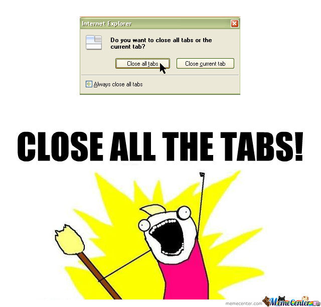 All The Tabs!