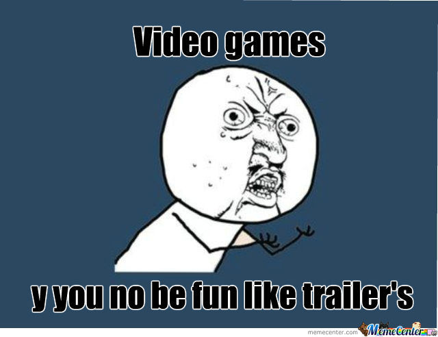All Video Game Are Like That