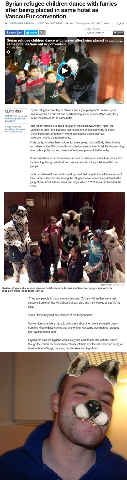 All Your Little Life Was In A Warzone After That First Thing You See [ Furries ]