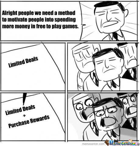 Almost All Free To Play Games Recently....
