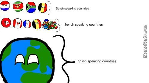 (Almost) Everyone Speaks English