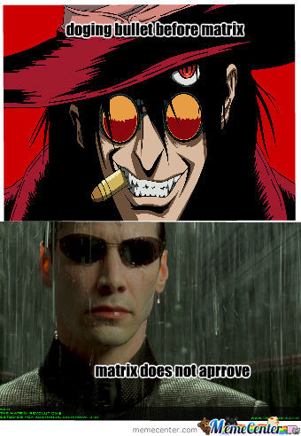 Alucard Is Awsome