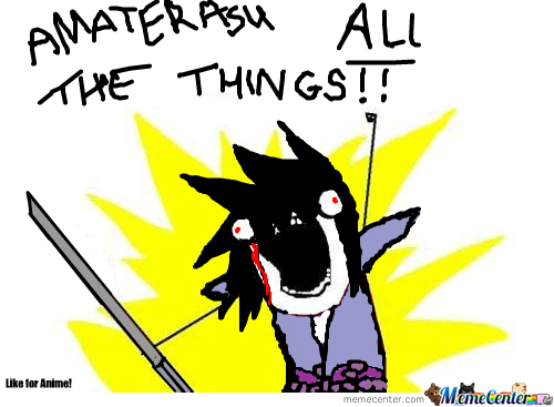 Amaterasu All The Things!!