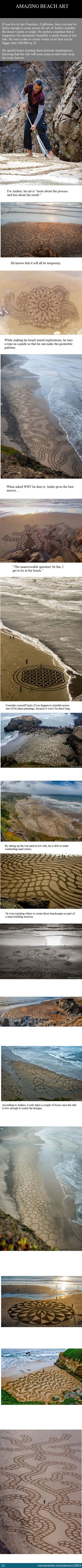Amazing Beach Art..