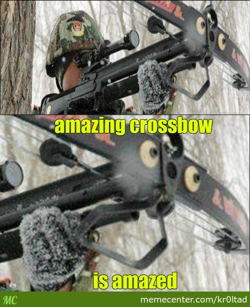 Amazing Crossbow Is Amazed