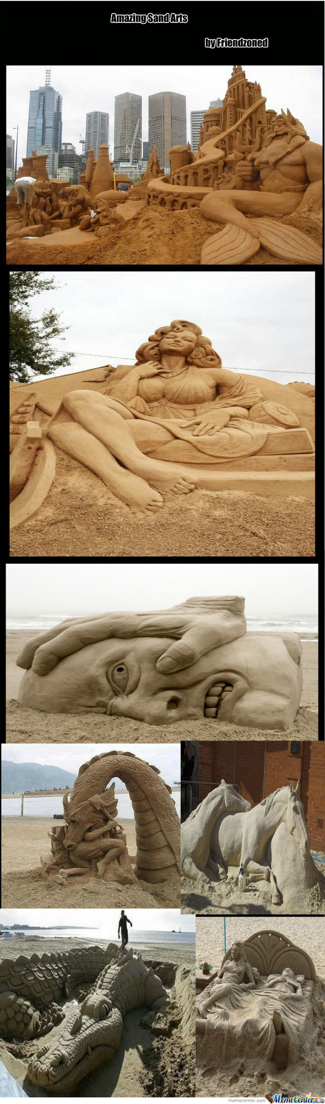 Amazing Sand Arts Part 1
