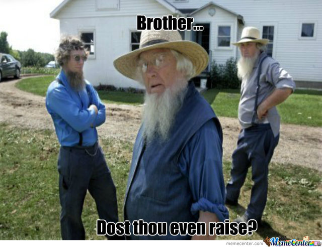 Amish Bodybuilders
