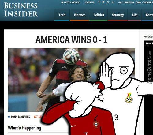 'murica Can't Into Football
