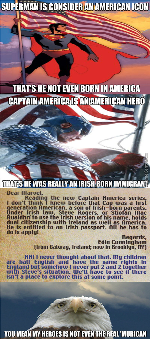 'murica Is The Land Of Immigrant