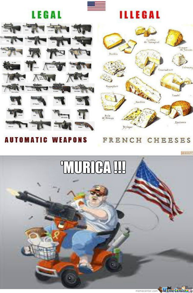 'murica Strikes Again