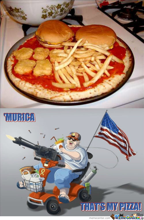 'murica! That's My Pizza!