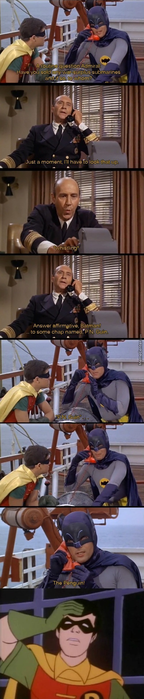 """but I'm Batman, The Best Detective In The World!"""
