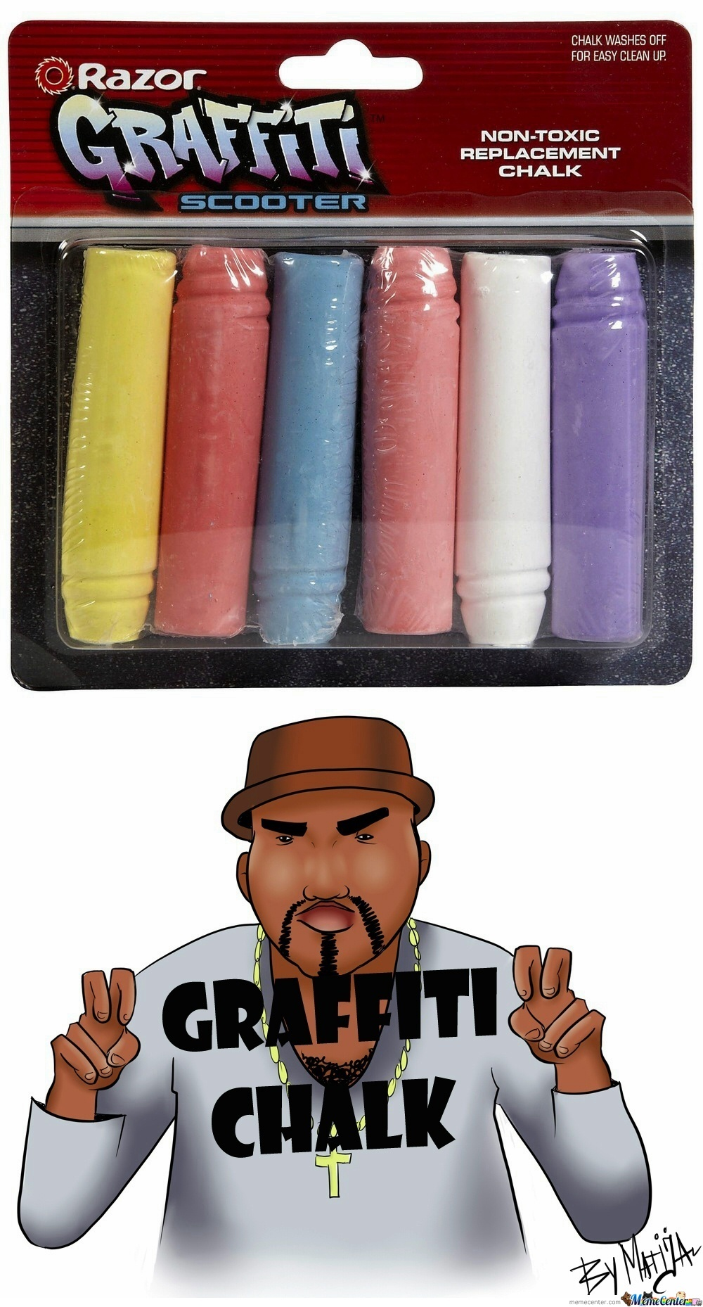 """graffiti Chalk"""