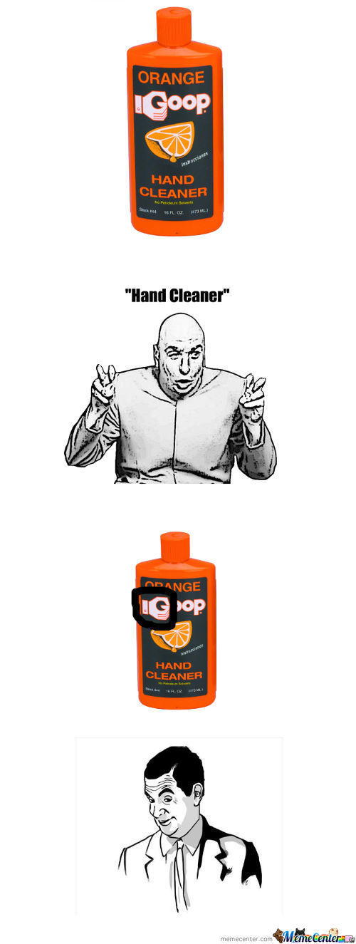 """""""hand Cleaner"""""""