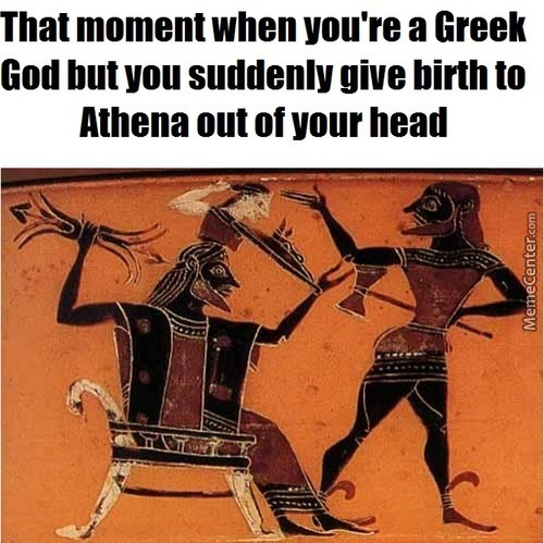 """lol What Can You Do?"" #birthofathene #yolo"
