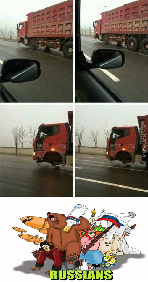 """"""" No! Ivan, No! Don't Reach For That! """" * Truck Tilts And Hits The Road *"""