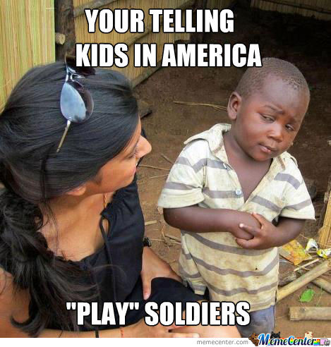 """play"" Soldiers"