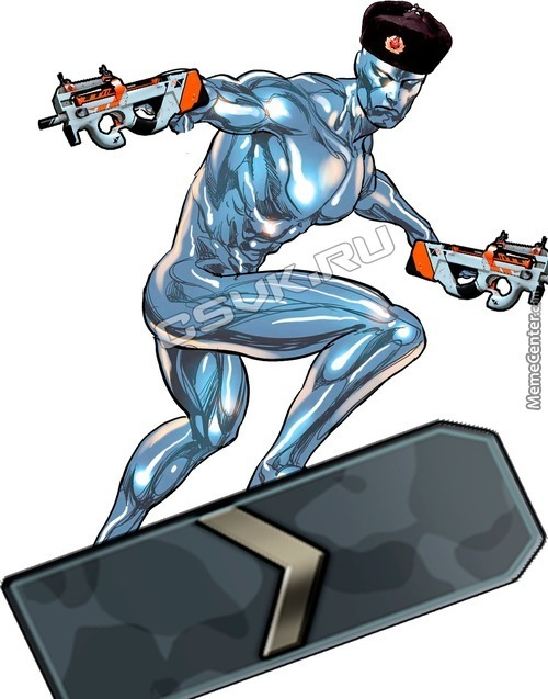 """silver"" Surfer"