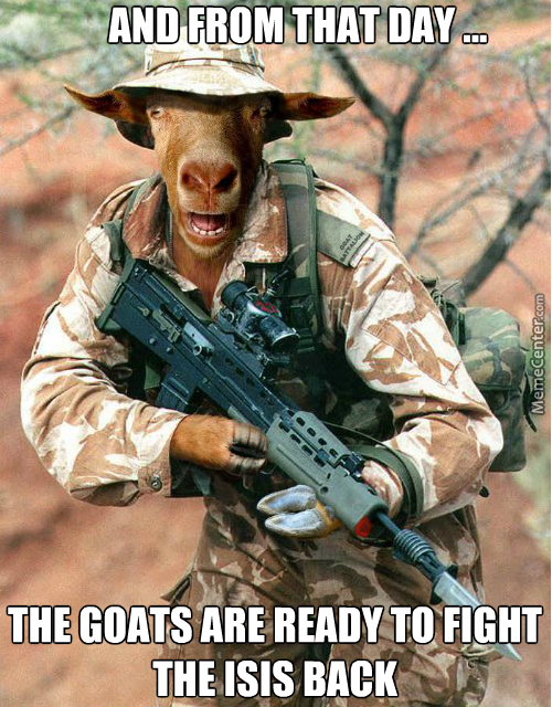 """""""we Shall Reclaim All Of Our Female Goats That They Took From Us !"""""""