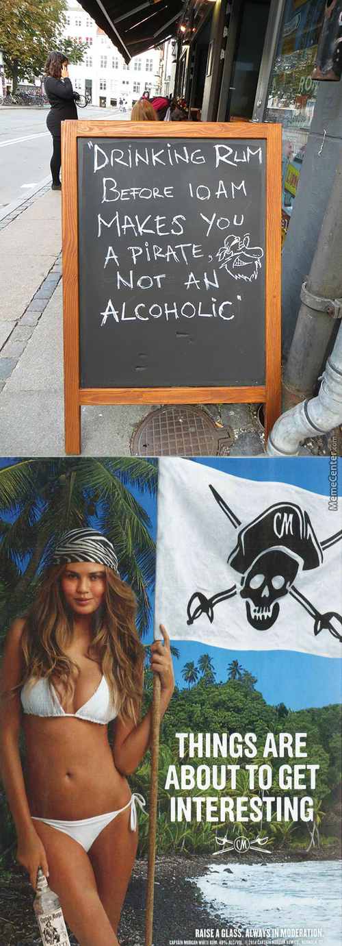 An Alcoholic Pirate