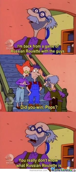 An Awesome Moment From Rugrats