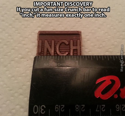 An Inch That Says Inch