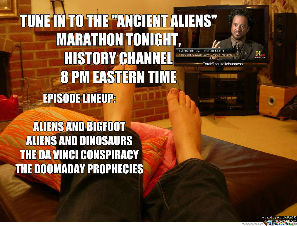 Ancient Aliens Marathon