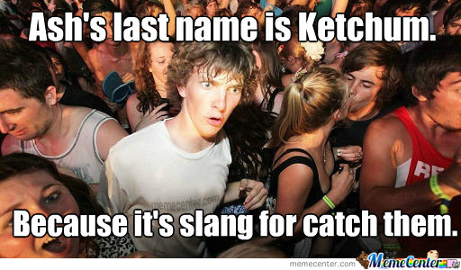 And All This Time Wondering Why His Name Is Weird.
