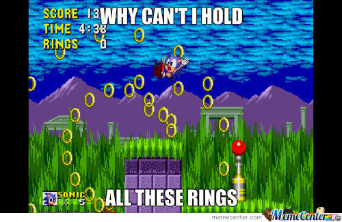 And I Had Enough For The Chaos Emerald Too.