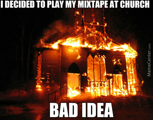 And Now Everyone Thinks Im A Satanist Who Sold His Soul To Make The Best Mixtape