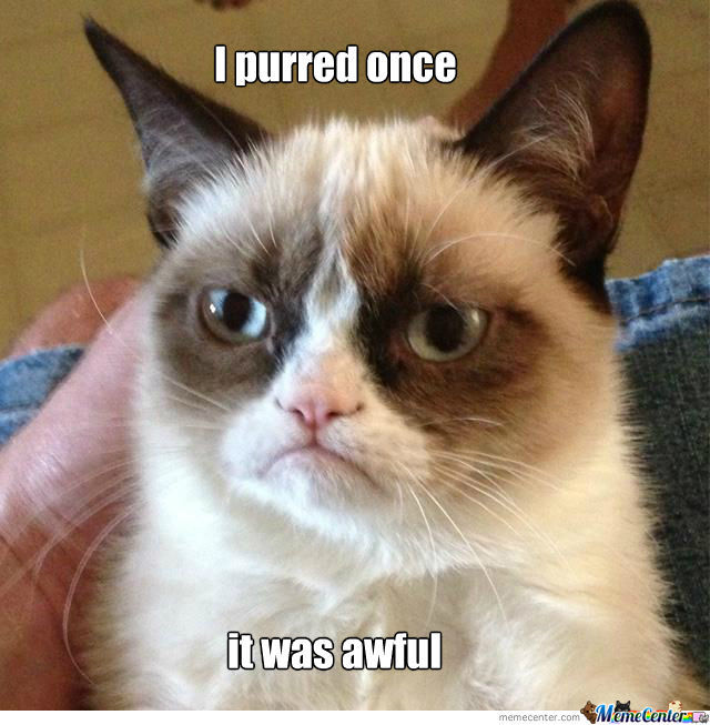 And She Purred Because She Had Killed You O.o