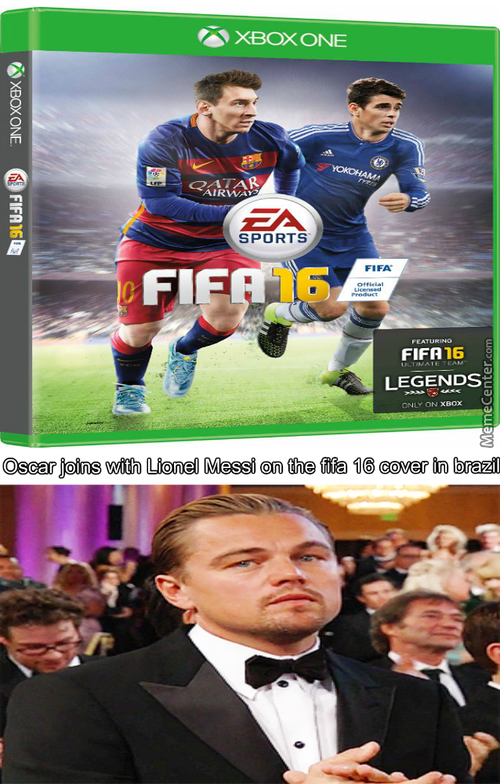 And The Oscar Is On The Fifa With Lionel Messi