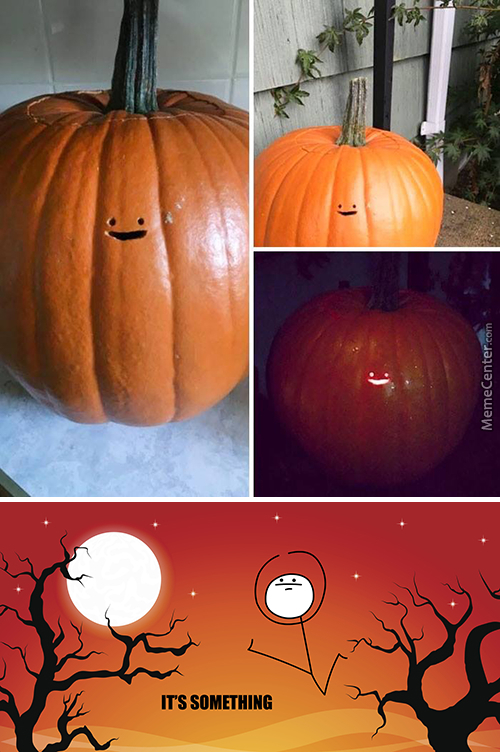 ...and The Pumpkin Carving Is Not My Thing Award Goes To...
