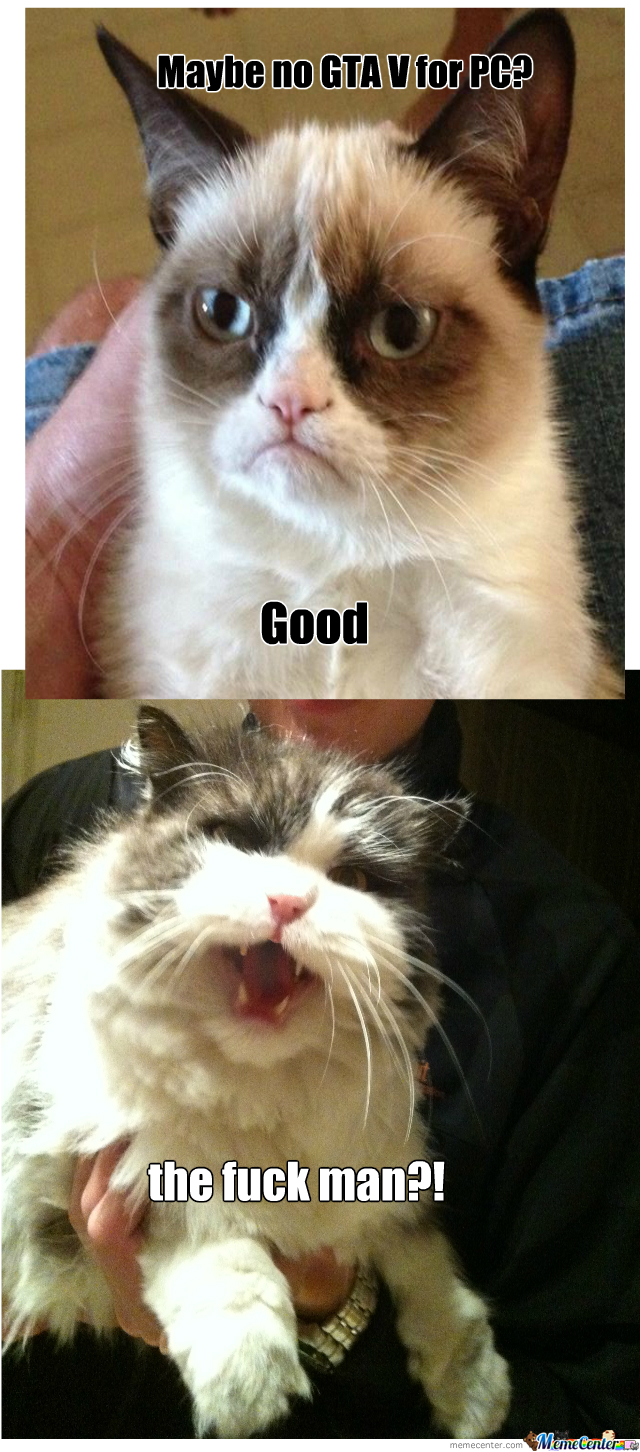 Angry Cat Is Angry by martiniostra - Meme Center