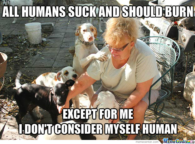 Animal-Obsessed Person Logic