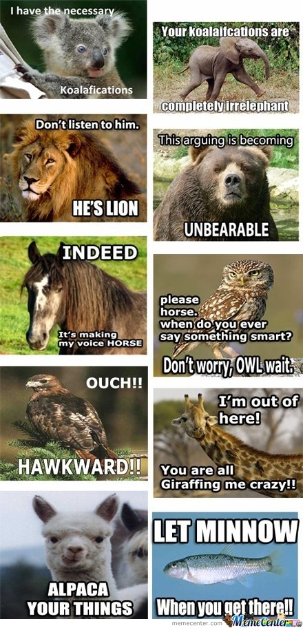 Animal Speaking