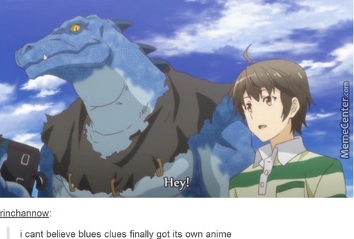 Anime Blues Clues (Outbreak Company)