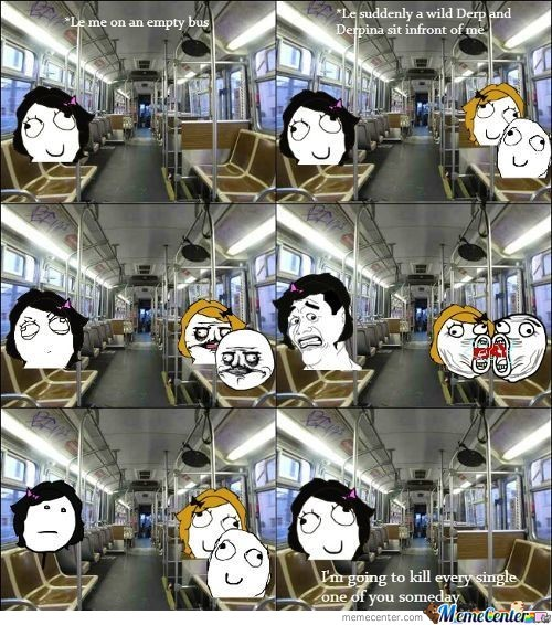 Annoying Couple On Bus