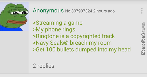 Anon Tries Youtube Streaming