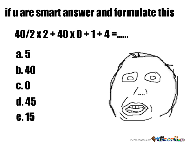 Answer This And Formulate (Like Megusta)