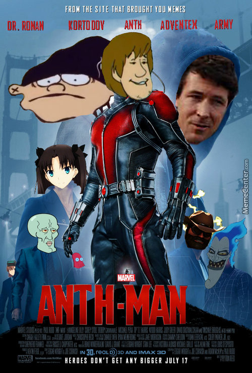 Anth-Man, The Hero Mc Isn't Sure About Whether He's A Hero Or Not.