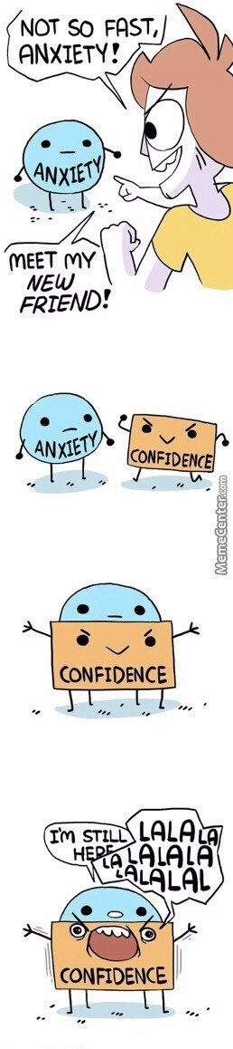 Anxiety And Confidence