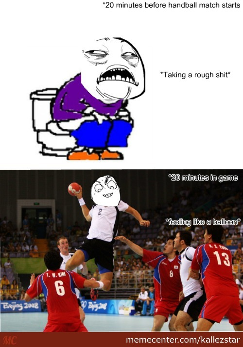 Any Handball Player Here On Memecenter Who Know This Feeling?